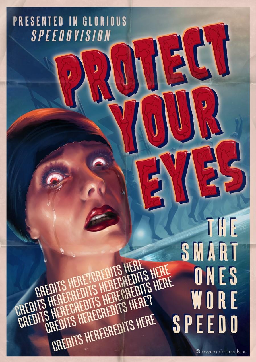 OWEN RICHARDSON Illustrator Retro Art Poster Art Film