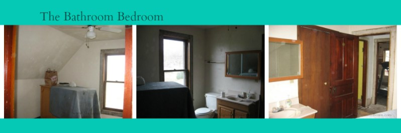 Small The Bathroom Bedroom Before