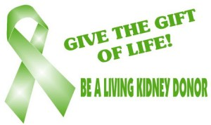Be a Living Kidney Donor