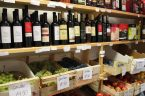 The shop in Milna, where we found great produce and wines for snacking at the villa