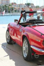 Car show in Trogir