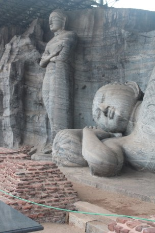 That these four giant statues were all carved into one giant rock just blows your mind. What if the last guy to finish messed up??