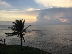 Sunset from the ramparts of the Dutch fort in Galle