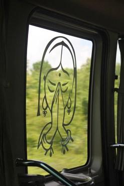 The door of our bus