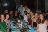 Our group photo at our goodbye dinner- an amazingly fun and interesting group of people