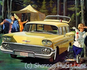1958 Chevy yellow camping flickr by x-ray delta one