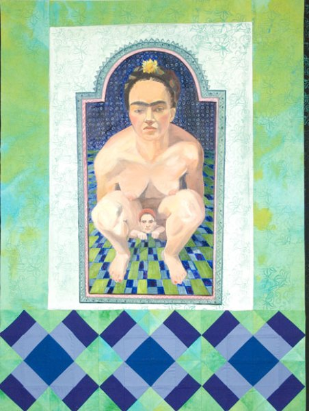 Book of Ours: Frida, Tlazoteotl and Me, Mixed Media