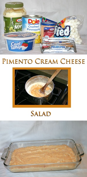 Pimento Cream Cheese Salad- Gluten Free