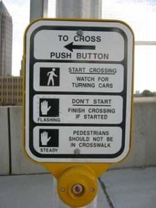 Crosswalks aren't magical safety zones.