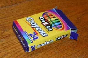 CraZArt Crayons had paper that was too waxy to keep burning.