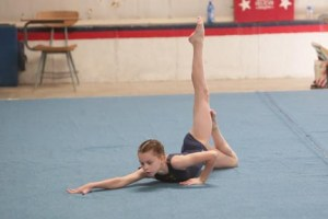 After gymnastics she needed a new passion.