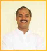 Acharya Sharad Chandra Sahoo - Principal; teaches Shukla Yajurveda and Sanskrit grammar. He is a post graduate in Sanskrit grammar and Acharya by tradition in Shukla Yajur Veda in which he also has a PhD.