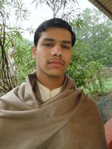 Chandrashekhar Joshi graduated from Shree Muktananda Sanskrit Mahavidyalaya
