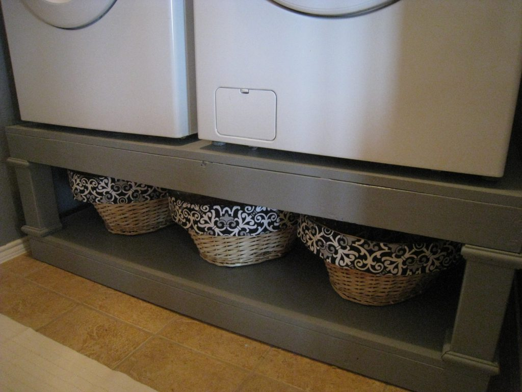 Washer And Dryer Pedestal Reveal