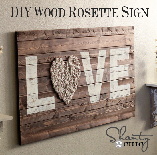 Diy Wall Art Love Shanty 2 Chic
