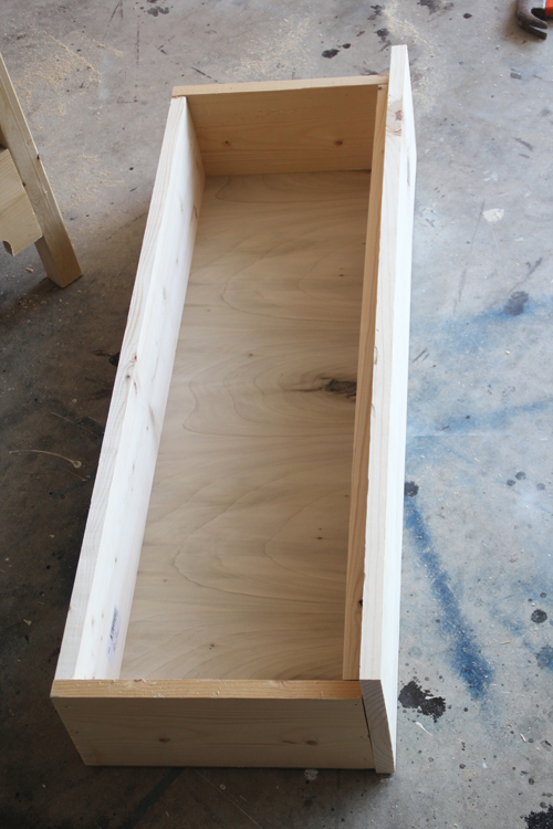 how to build a wooden drawer