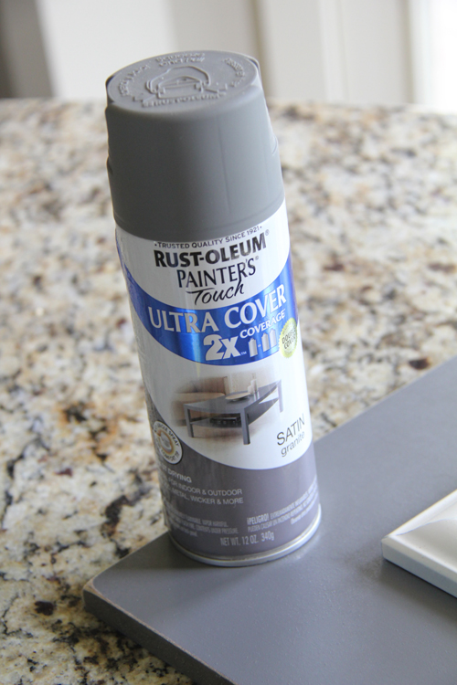rust-oleum gray spray paint
