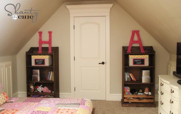 Diy Bookcase Pottery Barn Kids Inspired Shanty 2 Chic