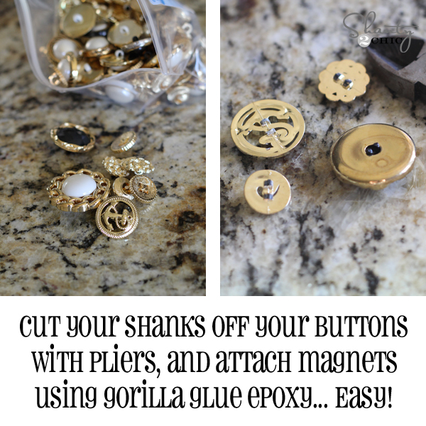 button magnets diy