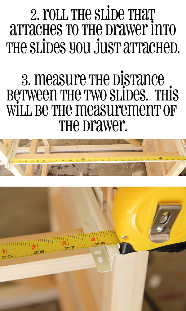 install drawer slides