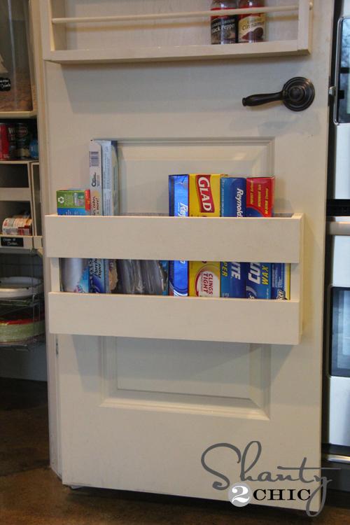 Kitchen Organization - DIY Foil & More Organizer! - Shanty 2 ...