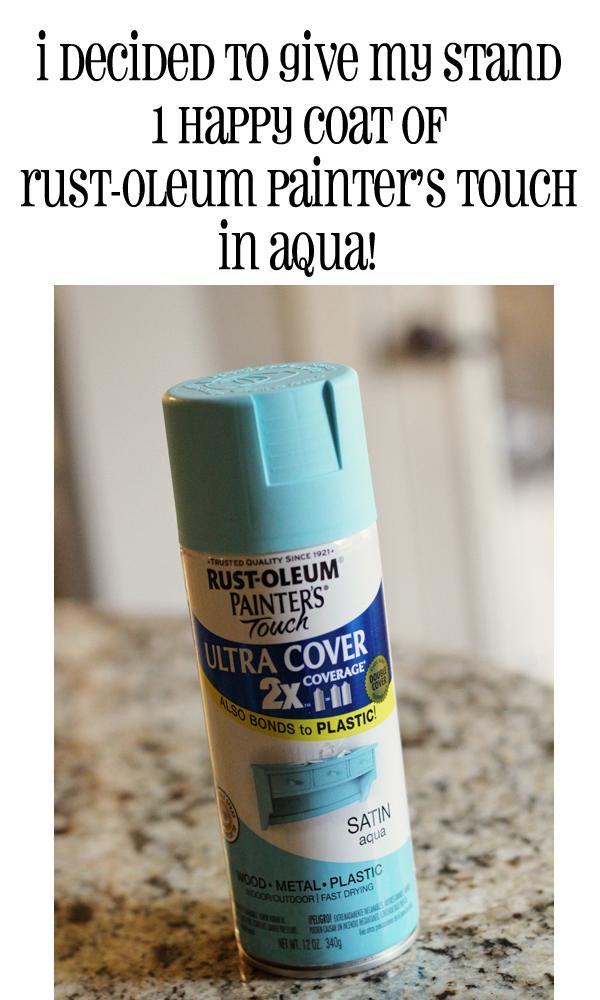 rust-oleum aqua