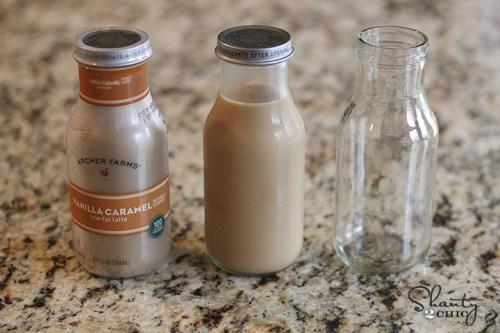 glass coffee bottles