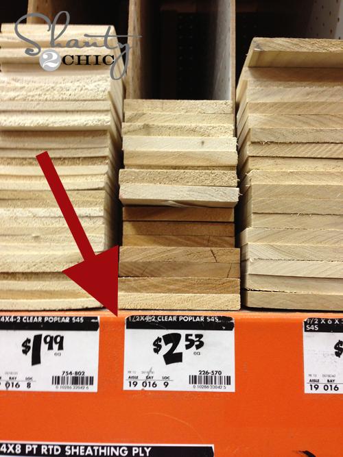 Home Depot Wood