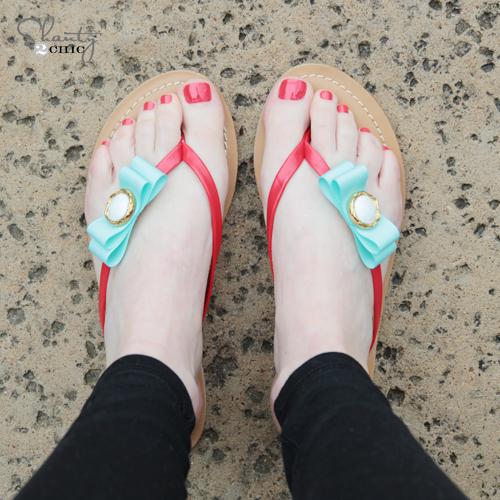 DIY Shoe Clips