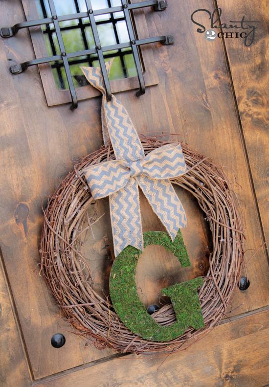DIY Wreath for Spring