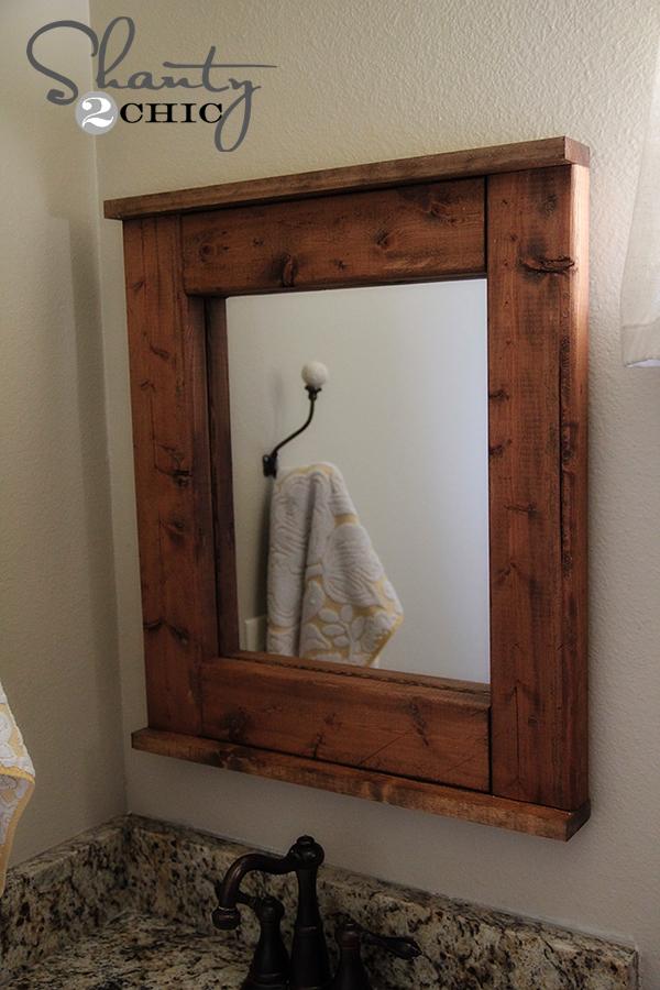 DIY Wood Mirror