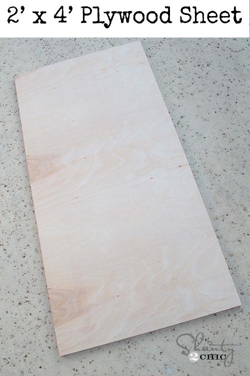 Plywood 2x4