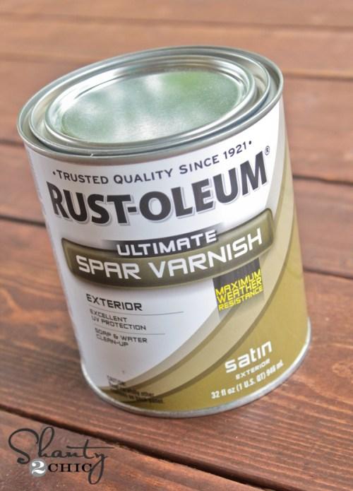 RustOleum Spar Varnish
