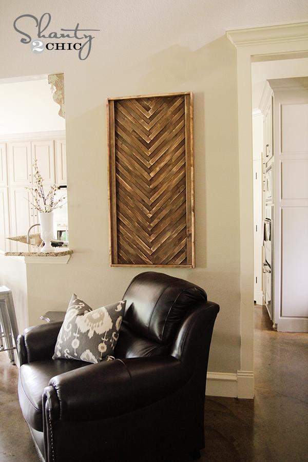 Wood Wall Art DIY