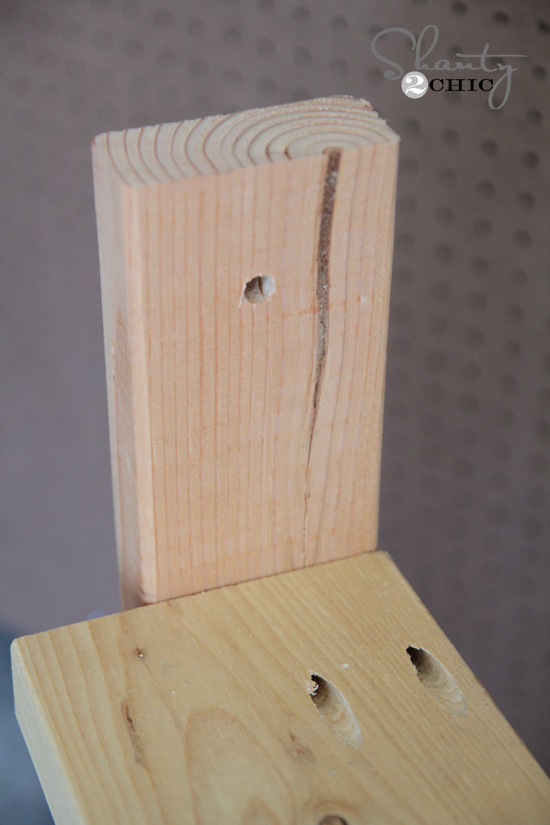 Drill Hole for Hanging Planter