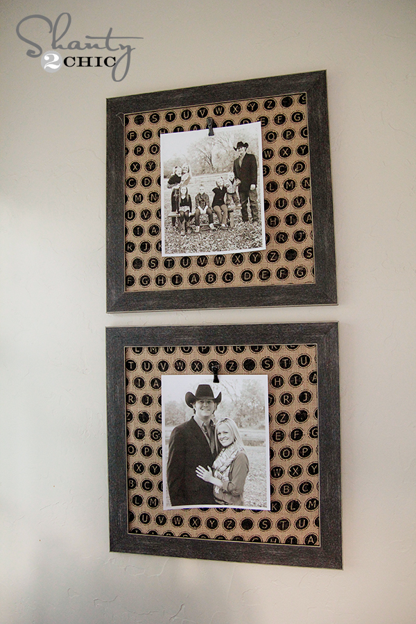 Photo Frame with Clip