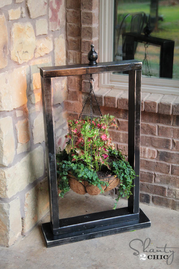 Plant Stand from Wood