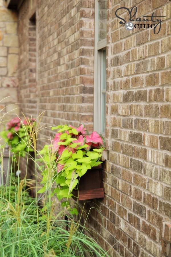 Planter Box Window