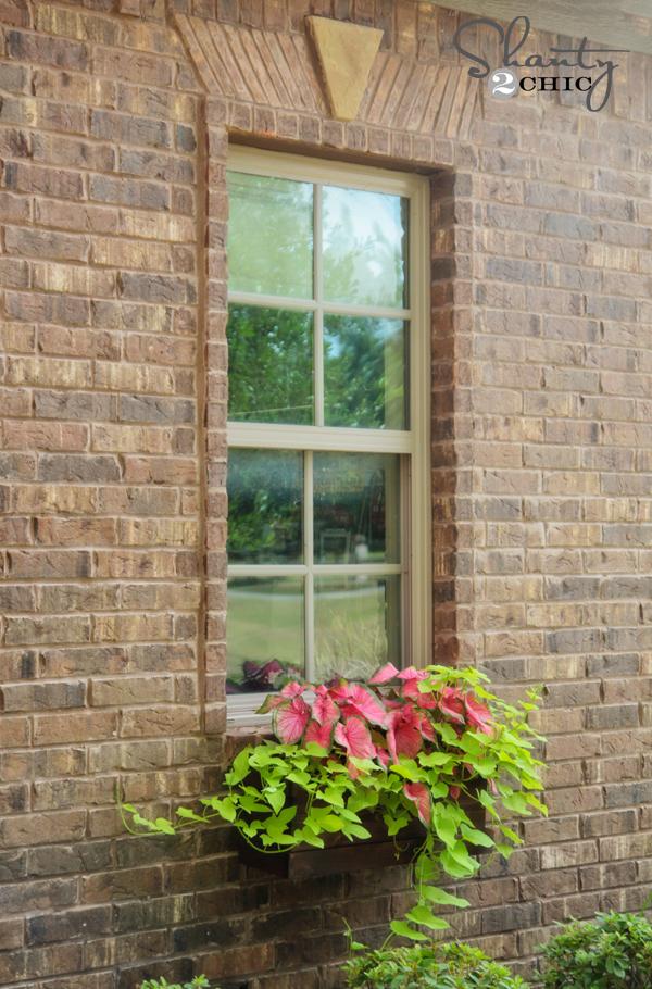 Window Box Planter DIY