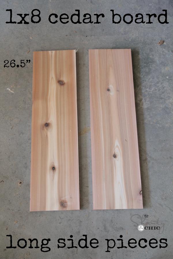 Window Box Sizes