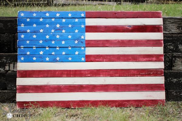 e2882aa7842b Wood Pallet Art - American Flag - Shanty 2 Chic