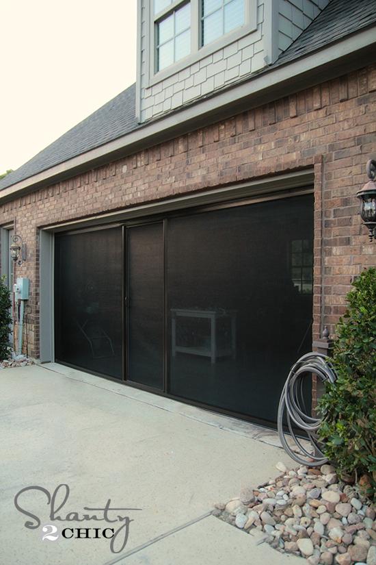 Screen Door for Garage