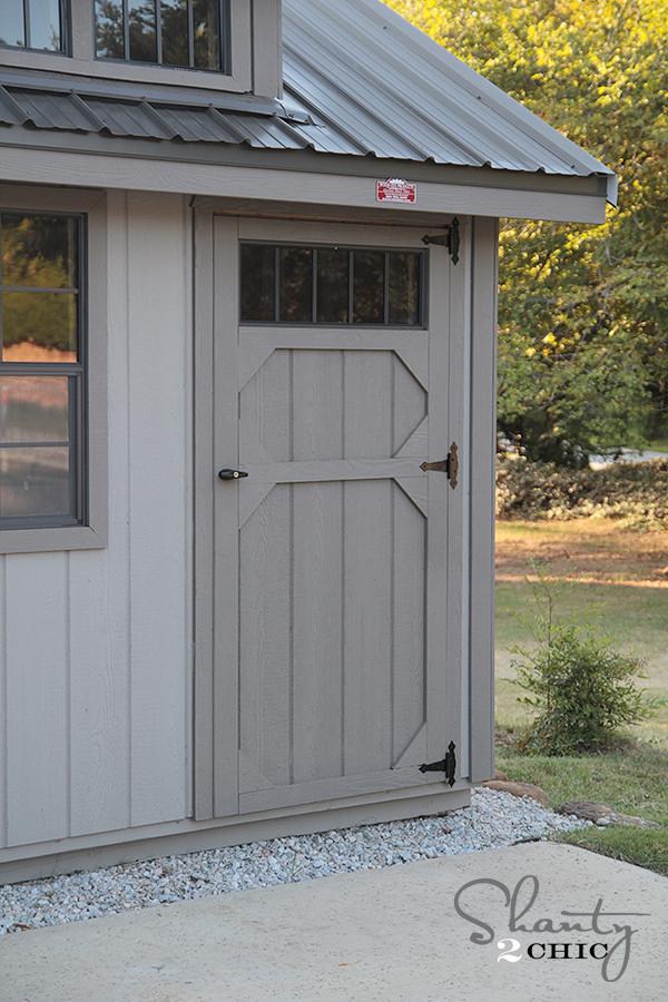 Storage Shed Door Photo