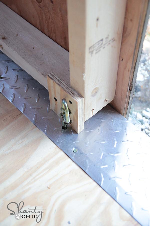 Storage Shed Door