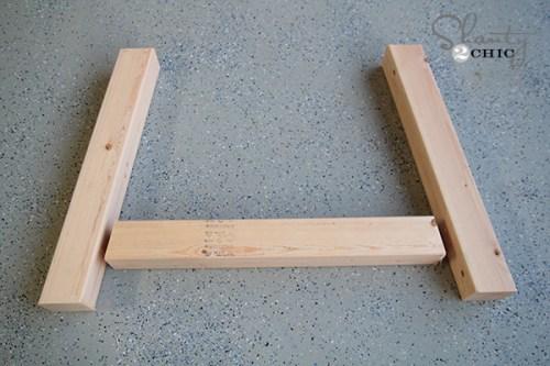 Table Base Wood