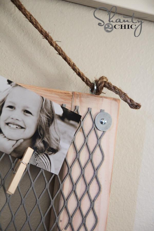 Hanging Memo Board