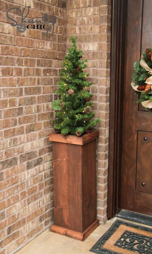 DIY Christmas Tree Stands Wood