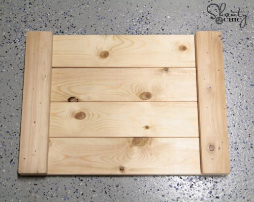 How to Coffee Table Tray