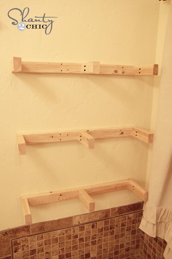easy diy floating shelves floating shelf tutorial video free plans rh shanty 2 chic com