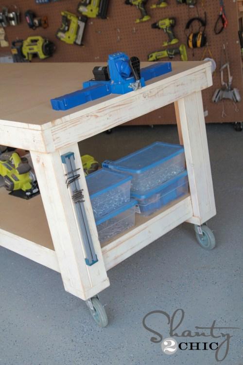 Shanty2Chic DIY Workbench